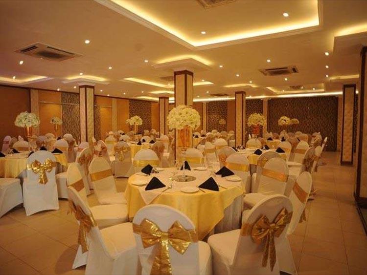 Randi Reception Hall Wedding Detail