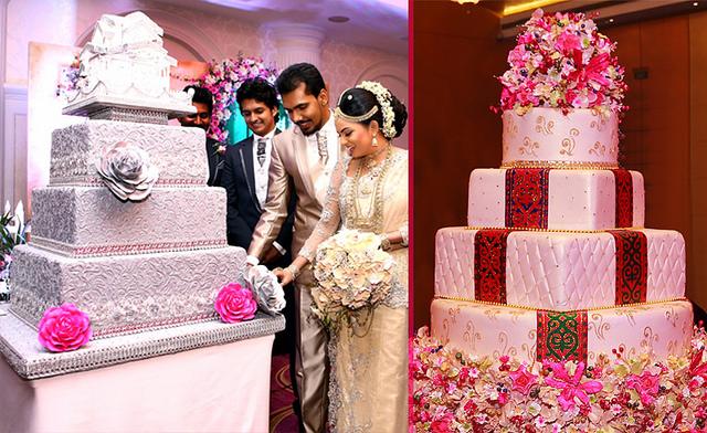 Lanka Chandani Cake Creations Wedding Detail