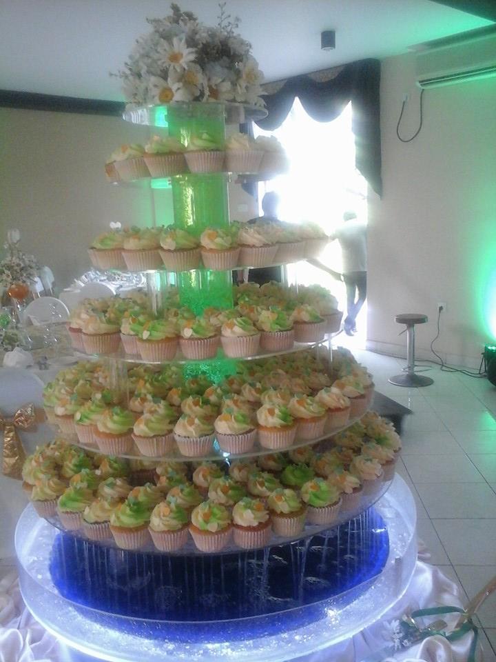 Kanrich Cupcakes Wedding Detail