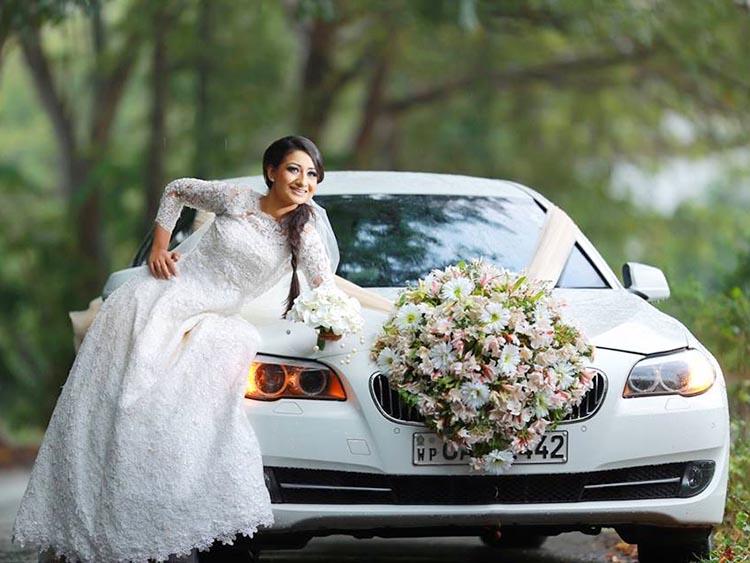 Magul Gedara Cars Wedding Detail