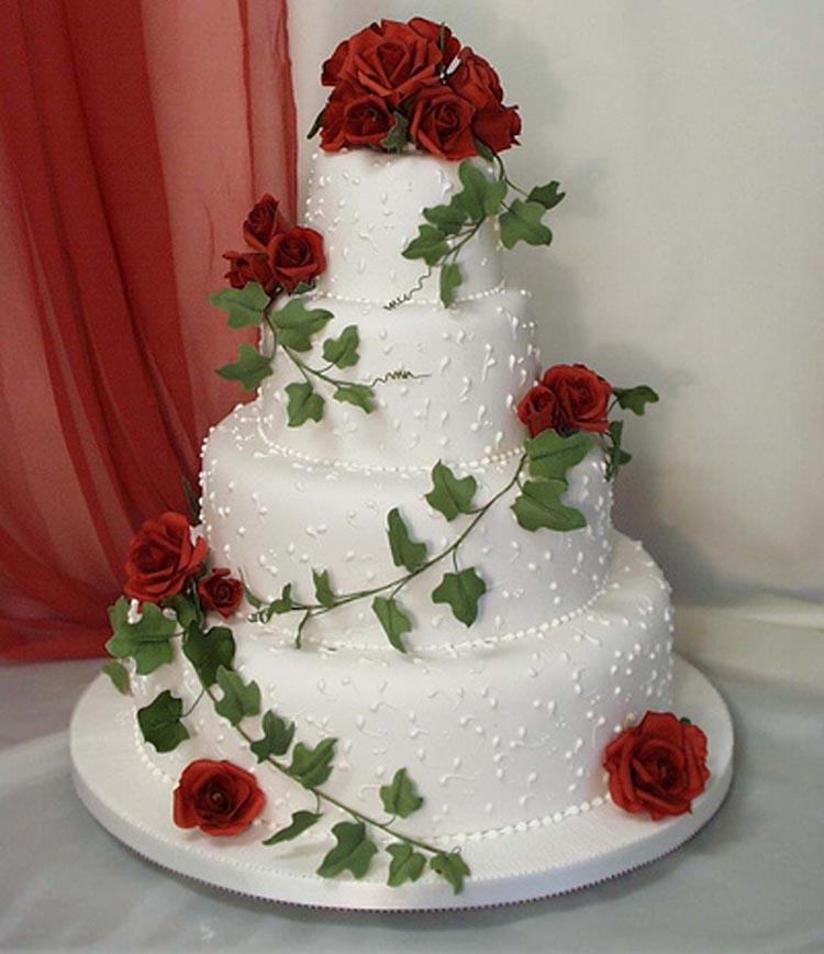 red rose wedding cakes pictures cup cakes partner lk 19150