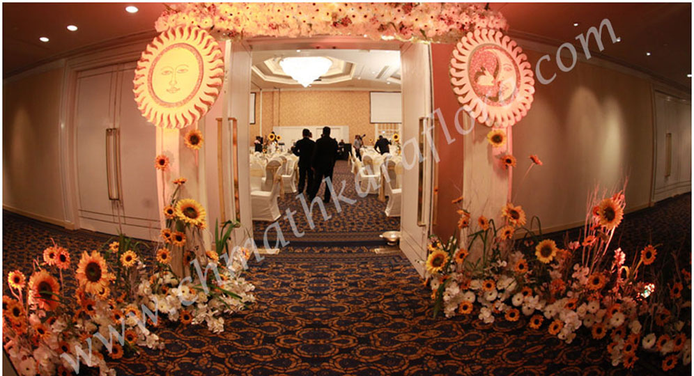 Chamathkara Flora Wedding Detail